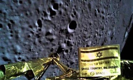 Fallito l'allunaggio della sonda israeliana Beresheet