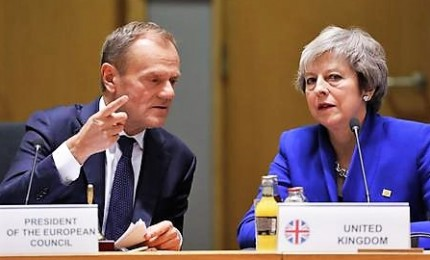 Brexit, vertice europeo per decidere proroga breve o lunga