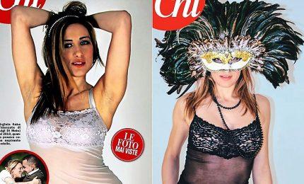 Le foto in intimo dell'ex modella Virginia Saba, la fidanzata di Di Maio
