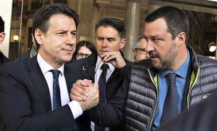 Salvini accelera verifica, a Conte e M5s chiede dei sì immediati