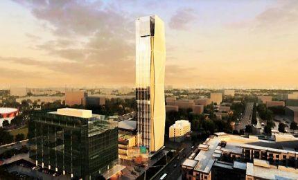 Ecco la torre di collaudo di ascensori più alta d'America