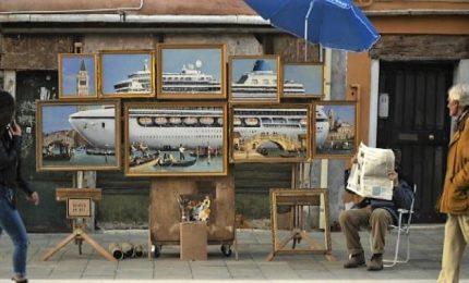 Banksy espone in incognito a Venezia e i vigili lo mandano via