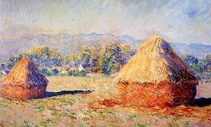 """""""I covoni"""" di Monet venduto all'asta per 110 milioni di dollari"""