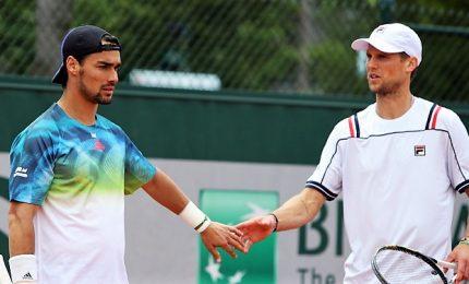 Roland Garros: Fognini vince derby Italia, avanza Zverev