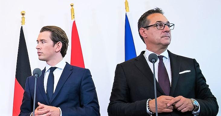 Strache affossa governo Kurz, elezioni anticipate in Austria