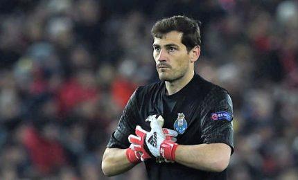 Infarto miocardio, ricovero urgenza per Casillas