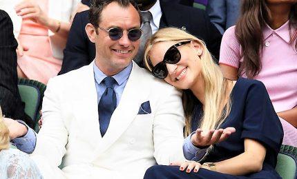 A Londra nozze super intime per Jude Law e la sua Phillipa