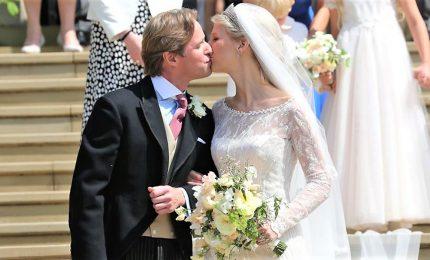 Abito italiano per il Royal Wedding di Gabriella di Windsor
