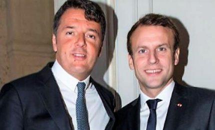 Renzi sostiene Macron per un Rinascimento Europeo