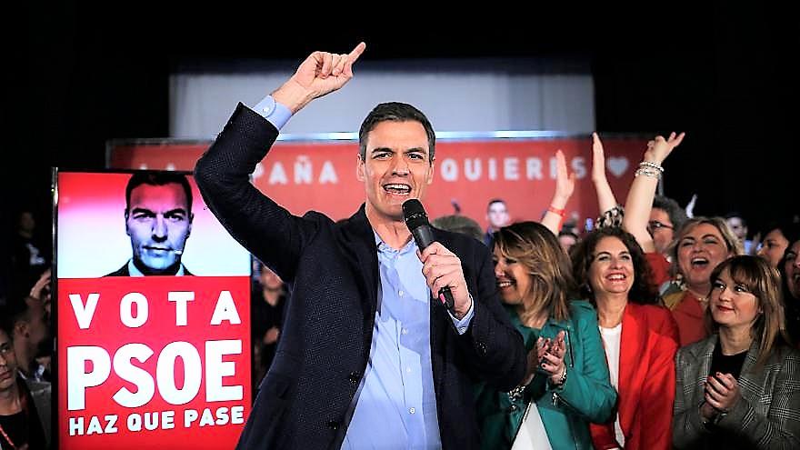 Spagna, il Psoe di Sanchez in soccorso ai socialisti europei