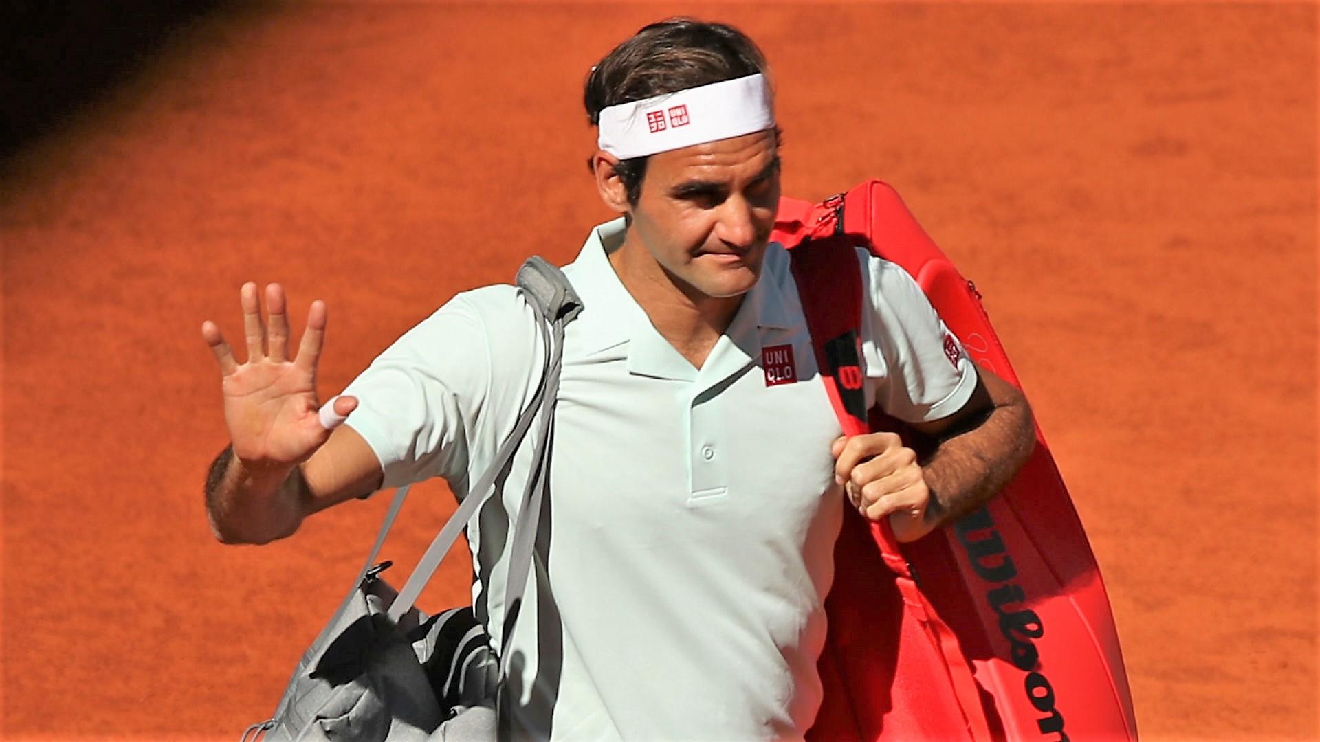 Dopo il diluvio i forfait, Roma perde re Federer