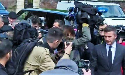 Al telefono mentre guida Bentley, Beckham senza patente per 6 mesi