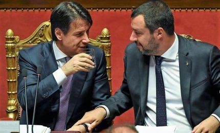 Fiducia Salvini a Conte ma pone condizioni su agenda e squadra. Nel mirino, Toninelli e Trenta