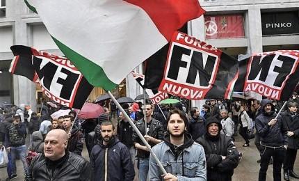 Contestato Fiorie, scontri tra manifestanti e polizia