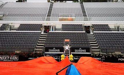 Pioggia blocca Open Italia, tutto rinviato