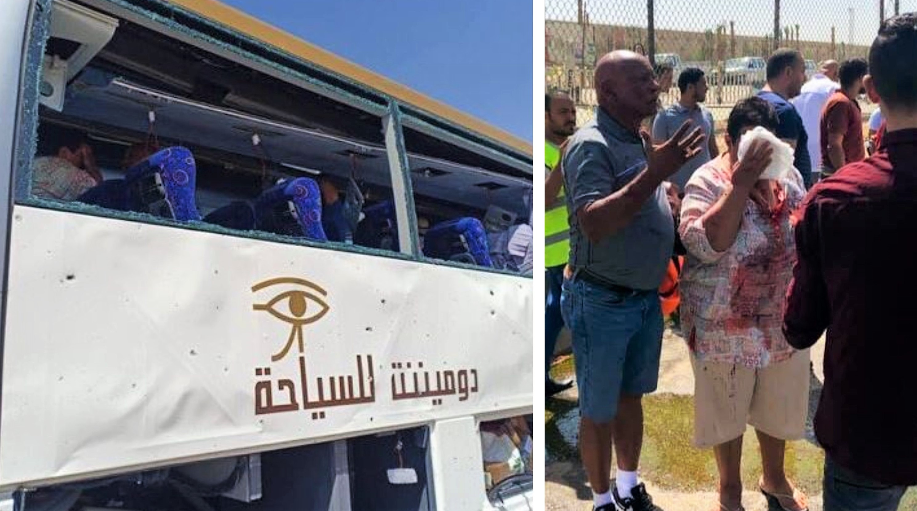 Bomba contro bus turisti vicino alla piramidi, 17 feriti