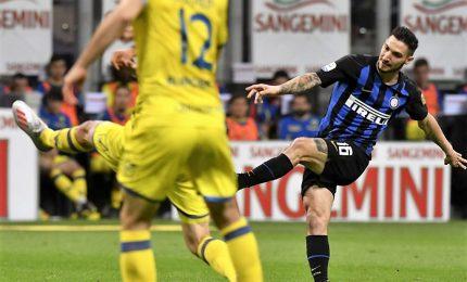 Inter batte 2-0 Chievo e si riprende il terzo posto