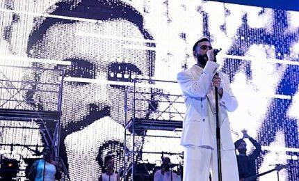 Due ore di show, Marco Mengoni incanta Roma