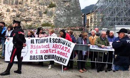 Il sindaco di Norcia deluso: noi esclusi dallo Sblocca Cantieri