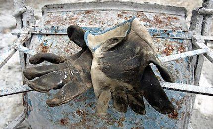 Operaio colpito da blocco cemento, è grave