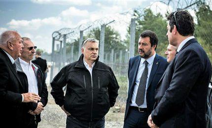 """Salvini vola da Orban: se vince anche lui alleanza con suo Ppe. """"La nuova Europa difenderà le sue frontiere"""""""