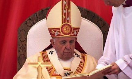 Il Papa è nella Macedonia del Nord, omaggio a Madre Teresa