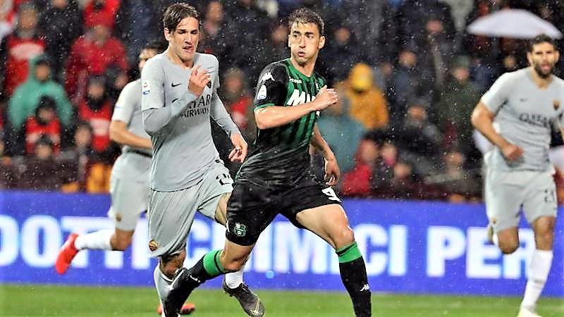 Roma frena con Sassuolo, Champions è più lontana