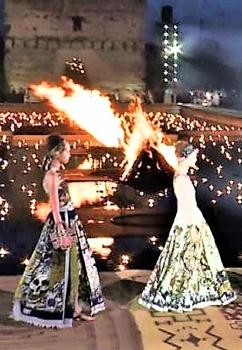 Spettacolare sfilata Dior nell'antica Marrakech