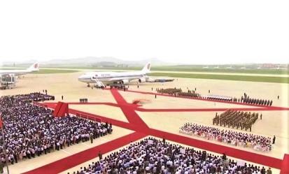 Storica visita del presidente cinese Xi Jinping in Nord Corea