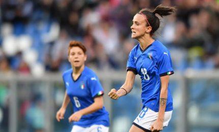 """Doppietta Bonansea, l'Italia sogna con Mondiali donne. La bomber: """"Abbiamo sconfitto nostra paura"""""""