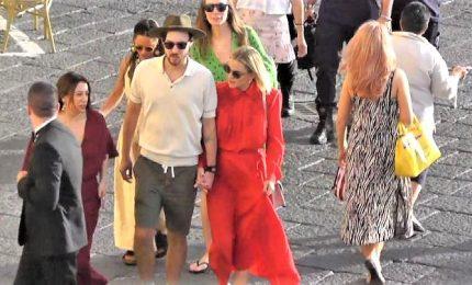 Capri blindata per Bulgari, tra i vip Kate Hudson e Scherzinger
