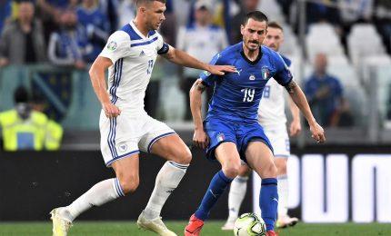 L'Italia ribalta anche la Bosnia, Euro 2020 e' vicino