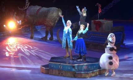 Arriva in Italia 'Disney On Ice: Frozen, Il regno di ghiaccio'