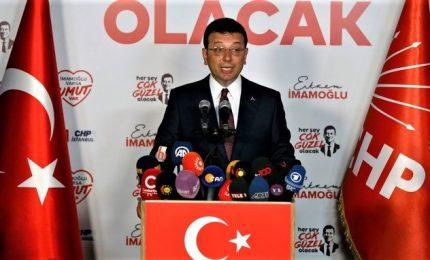 Voto a Istanbul vince Imamoglu, candidato anti-Erdogan