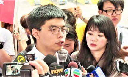 Hong Kong, libero il leader del movimento degli ombrelli