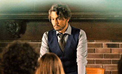 "Johnny Depp, prof fuori dagli schemi in ""Arrivederci professore"""