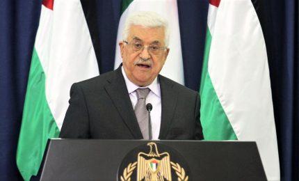 M.O, Abbas boccia piano Usa: serve soluzione politica