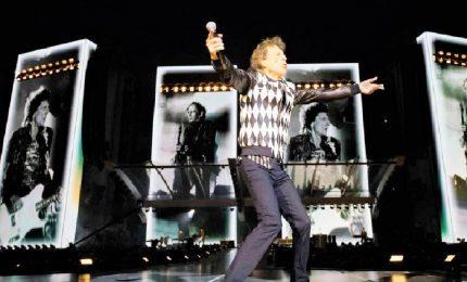 Mick Jagger è tornato sul palco: a Chicago con i Rolling Stones
