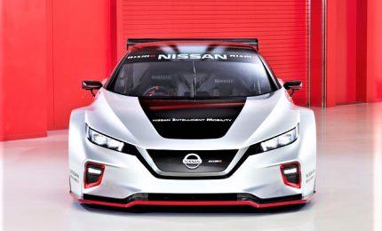 Nissan, la vettura da corsa 100% elettrica