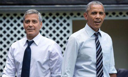 Obama da Clooney a Como, vedranno i fuochi sul lago
