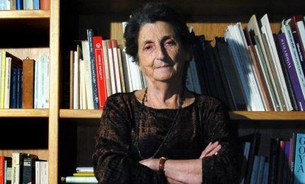 Morta l'ex senatrice Simona Mafai, aveva 91 anni