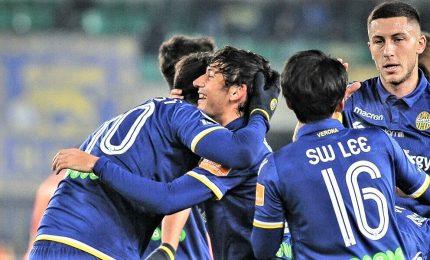Verona fa l'impresa e torna in serie A, 3-0 al Cittadella