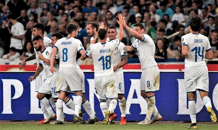 Tris Italia alla Grecia, già fuga azzurra per l'Europeo