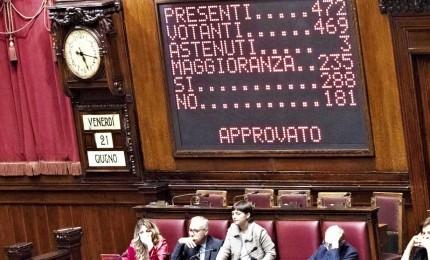 Intercettazioni, la Camera vota la fiducia con 304 sì