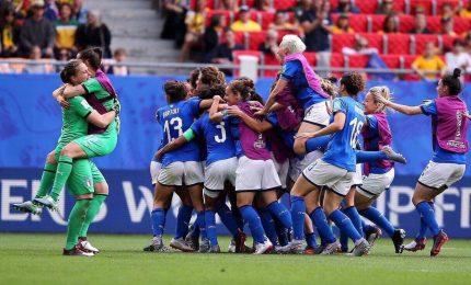 Mondiale donne: Italia scrive storia, Cina ko e vola ai quarti