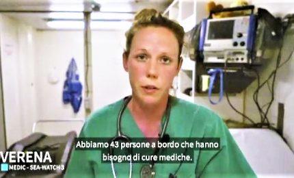 Sea Watch, Salvini: intervenga Olanda. Il medico a bordo: aiuto