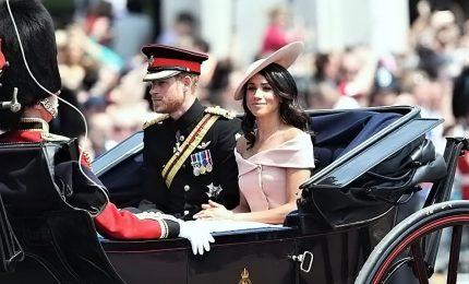 La regina Elisabetta alla parata per il compleanno, e c'è Meghan