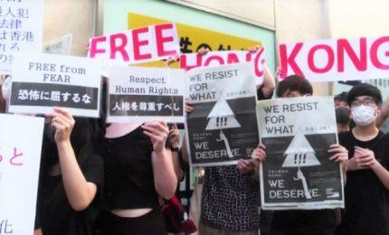 G20, manifestanti contro Pechino: stop violazione diritti