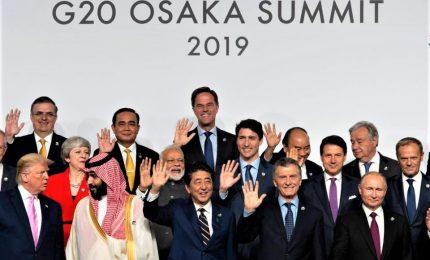Iniziato a Osaka il vertice dei G20. Commercio, sicurezza e clima in agenda