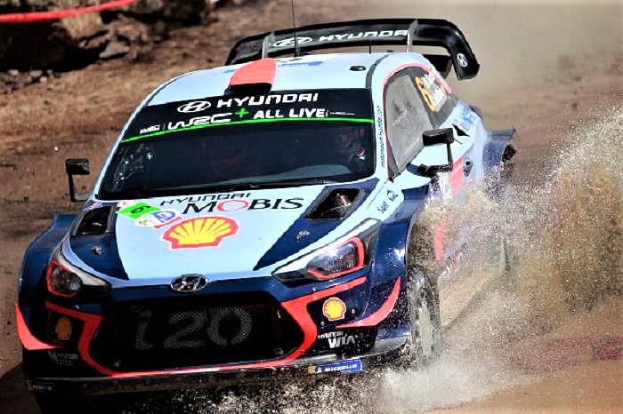 Rally Italia Sardegna, vince lo spagnolo Sordo su Hyundai
